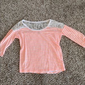 Women's top size XS express worn once